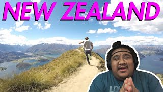 Backpacking Around New Zealand - Carlos Costa [REACTION]