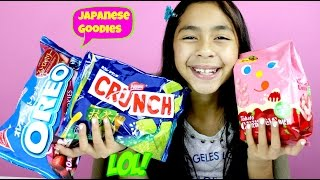 Japanese Goodies Oreo Cookies Green Tea Crunch & Strawberry Shrimp| B2cutecupcakes