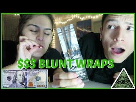 SMOKING A 100 DOLLAR BILL BLUNT WRAP ?! [The Benjamins]