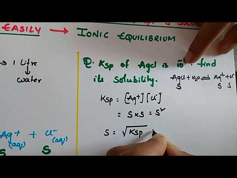 Tricks To Solve Solubility Product(Ksp) And Solubility(s) Questions Easily | Ionic Equilibrium