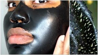 FIRST TIME USING A BLACK PEEL OFF MASK | SHILLS thumbnail