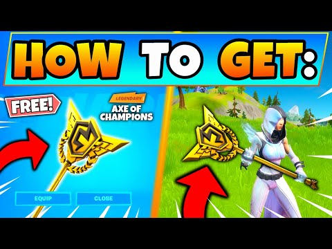 HOW TO GET FREE AXE OF CHAMPIONS PICKAXE In FORTNITE! - NEW Free Skins In Battle Royale!