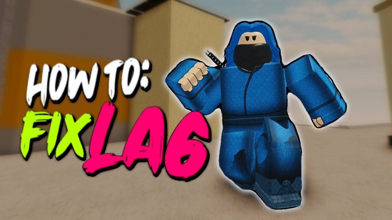 How To Fix Roblox Arsenal Lag (ADVANCE) YouTube