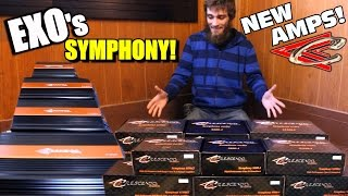 Symphony Amps Unboxing w/ BANDPASS X-OVER & LED Clipping Indicator | Class D Crescendo Power