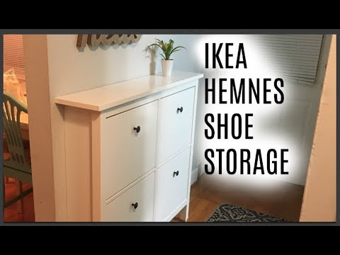 Designing Our Entry Way With Ikea Shoe Storage