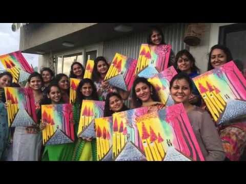 Bhagyashree's Private Painting Party | GroupArtCircle Pune