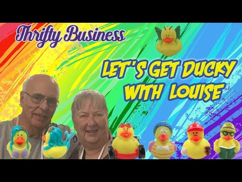 What the duck? Louise Sanchez Has Been Selling On Ebay Since 1998 Thrifty Business 7.15