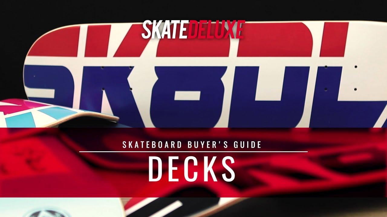 c243e4948eb Alles over Skateboard Decks - Wiki | skatedeluxe Blog
