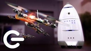 Security Droids & Autonomous Drones - The Gadget Show