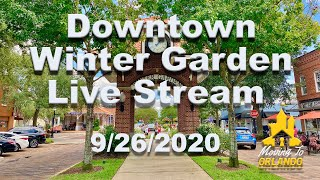 Can you really find New York Pizza in Florida?  Downtown Winter Garden livestream
