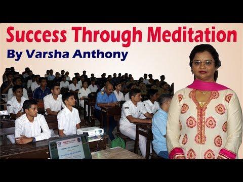Success Through Meditation Session 1 at Birla College | What is Meditation | Benefits of Meditation