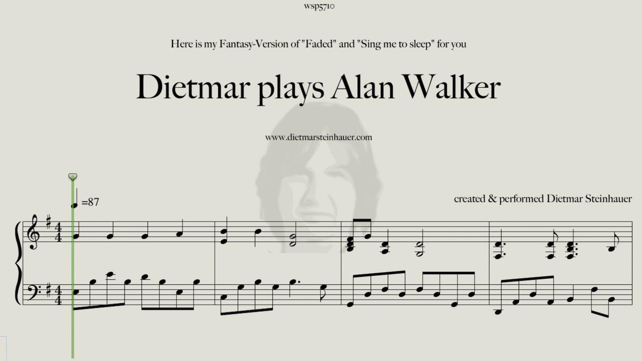 Dietmar plays alan walker youtube for Dietmar steinhauer