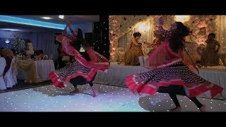 Bollywood Dance  Live at a Wedding  Performance by the SonAash Sisters  Captured by Rapyal Media