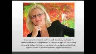 """""""Wertschätzung – das Kapital der Zukunft"""" (Dr. Karin Uphoff, Rheingauer Wirtschaftsforum 2014)"""
