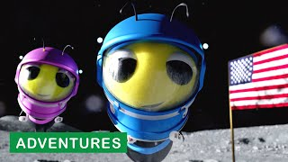 Benny & Bella Go to the Moon!! | Benny the Bee