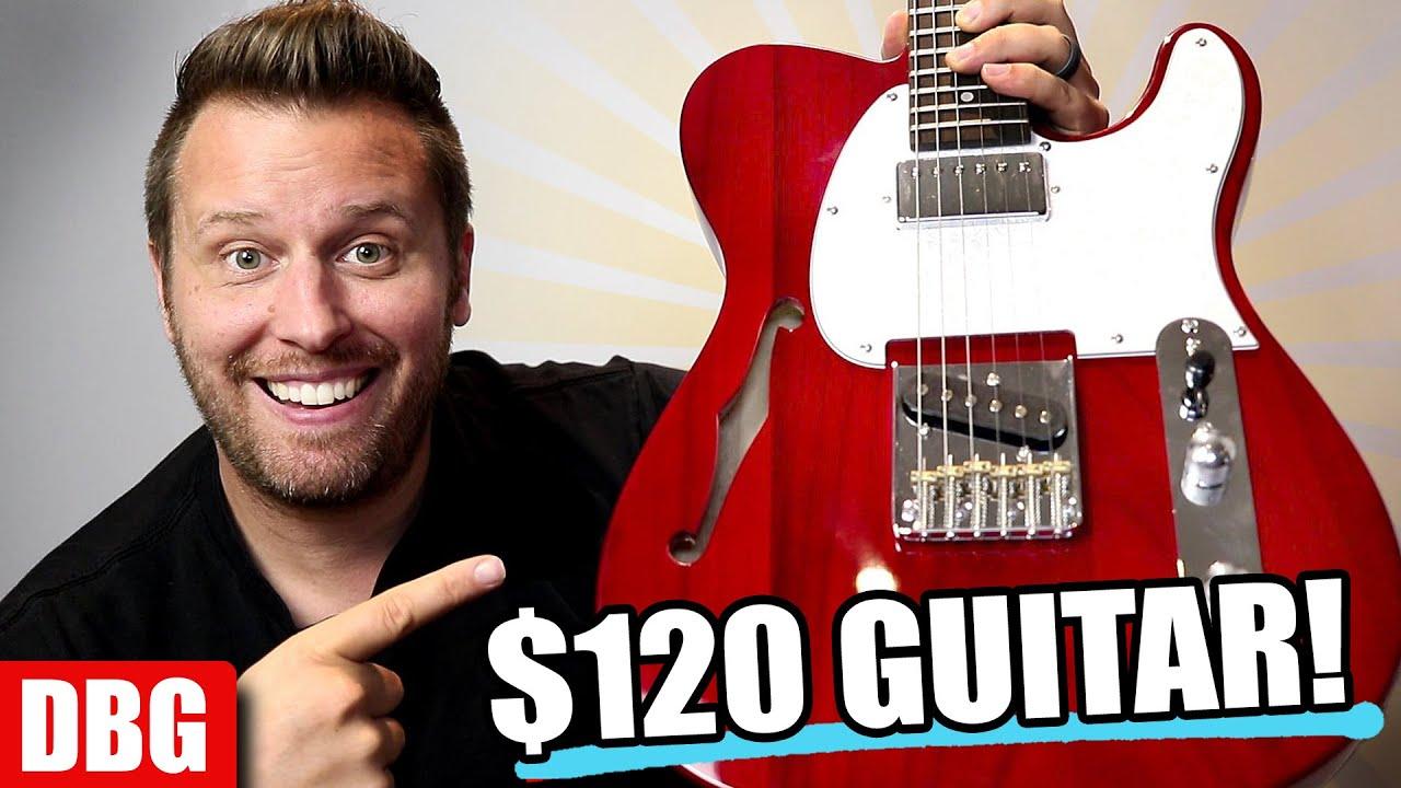 I Just Got a $120 Guitar...and It's FANTASTIC!!