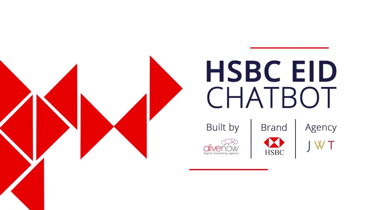 HSBC Eid Messenger Chatbot: Create customized greetings with a Facebook  Chatbot