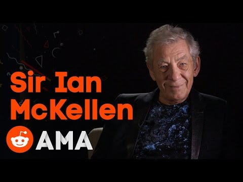Sir Ian McKellen: Reddit Ask Me Anything