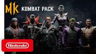 Mortal Kombat 11 Kombat Pack - Official Roster Reveal Trailer - Nintendo Switch