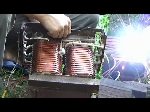 how to make a homemade welder diagram 120v ac, 220v arc welder Alf