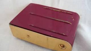 Original Jaeger Travel Alarm Clock For Sale On EBay UK.