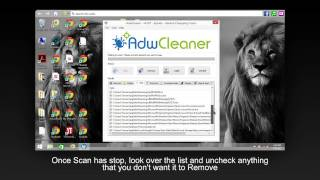 Malware and Spyware Removal using Adwcleaner for Windows PC's