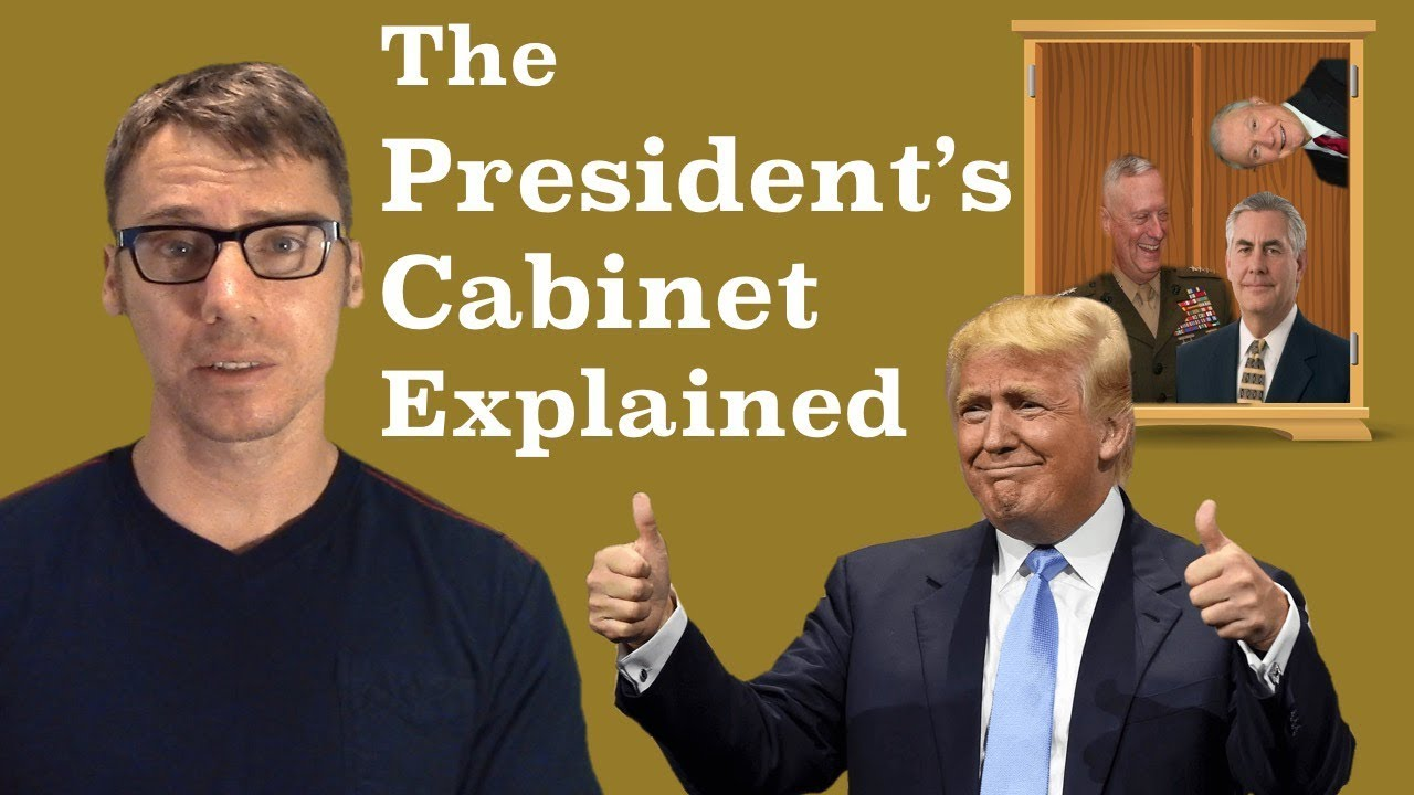 The American President's Cabinet Explained - YouTube