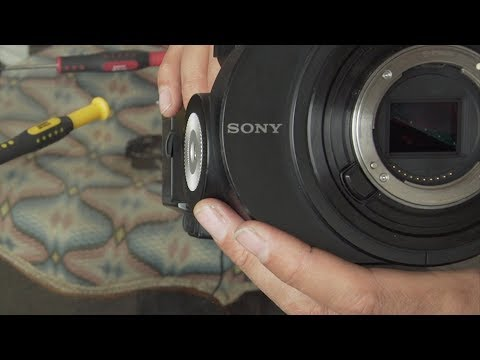 Fix jammed ND filter on Sony FS700