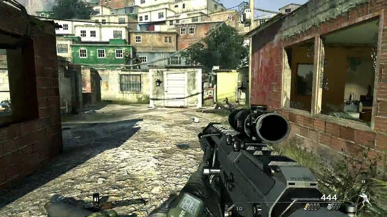 Gameplay Call of Duty Modern Warfare 2- Castellano HD - YouTube