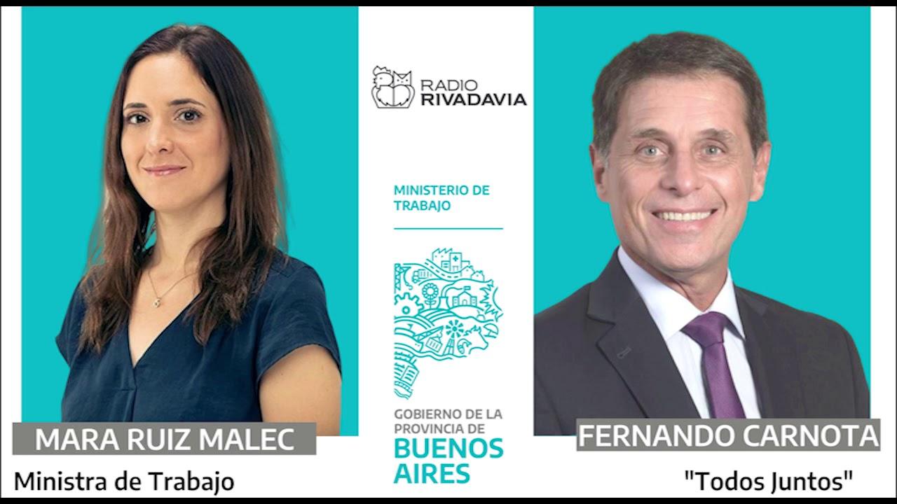 14 05 2020 Mara Ruiz Malec Con Fernando Carnota En Radio Rivadavia Youtube