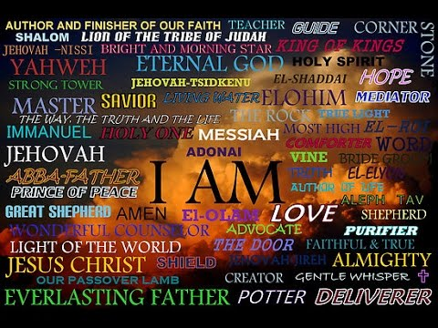 The Names of Almighty God Yahweh of Israel - HE IS Jesus ...