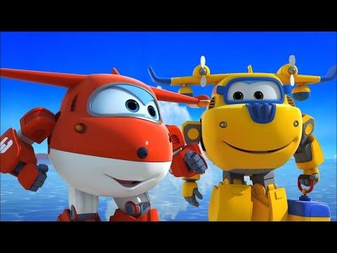Супер Крылья - Все серии про самолетики-трансформеры в HD! Мультфильмы для всей семьи