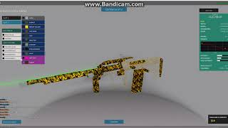 HOW TO MAKE CHEETAH GUN SKIN- Roblox Phantom Forces