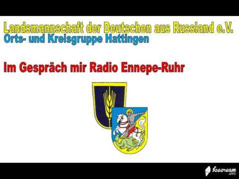 Radio Ennepe-Ruhr Vorstellung des Hattinger Vereins