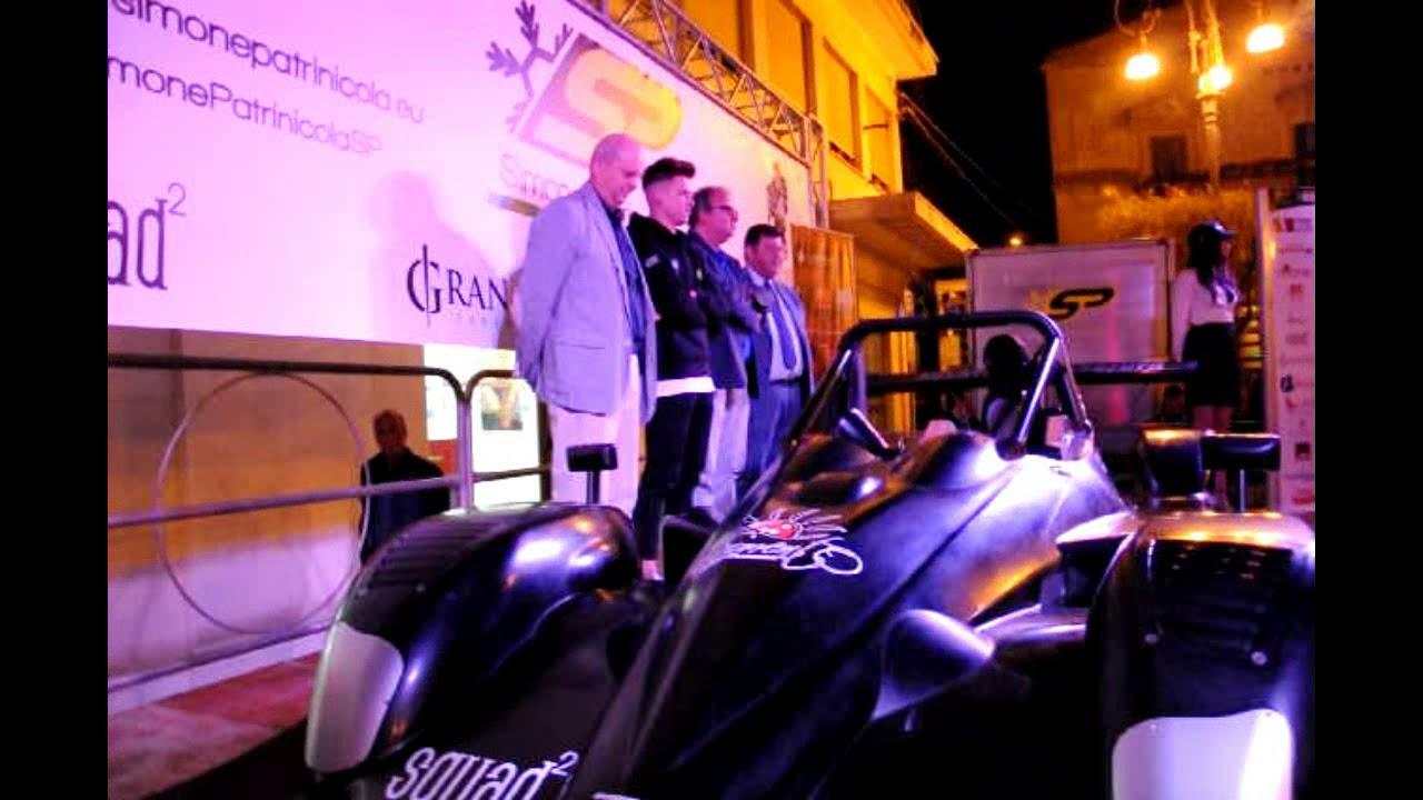 ENNA:   la Ligier Honda del pilota ennese Simone Patrinicola