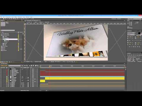 Tutorial After Effects - Wedding Photo Album