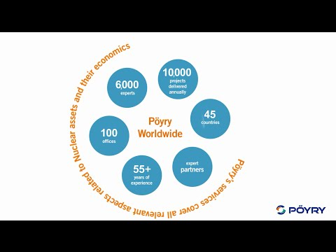 Introduction to Pöyry's Nuclear Energy services