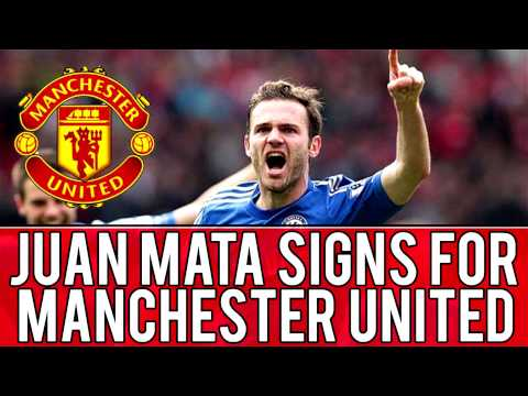 Juan Mata Signs for Manchester United!