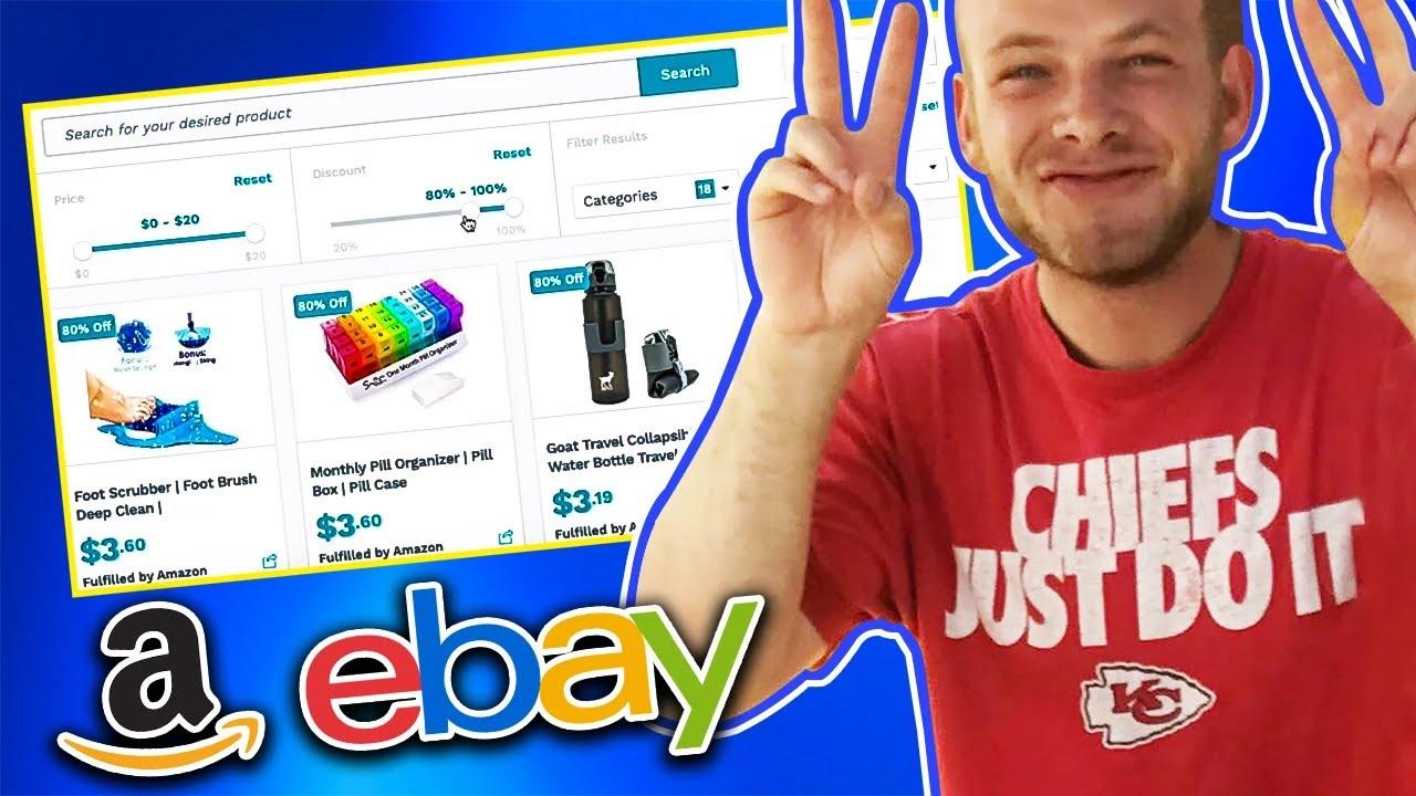 Super Easy Way To Make Money Online 2020 Amazon To Ebay Youtube