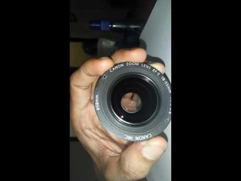 Cleaner lens fix canon 18-55mm part 2