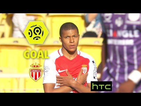 Goal Kylian MBAPPE (64') / AS Monaco - Toulouse FC (3-1)/ 2016-17