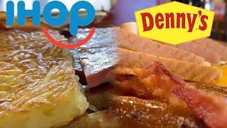 IHOP vs  Denny's Taste Test | BREAKFAST BATTLE