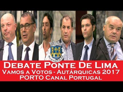 Debate Ponte De Lima   Vamos a Votos   Autárquicas 2017   Porto Canal