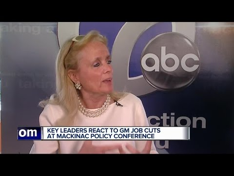 Key leaders react to GM job cuts at Mackinac Policy Conference