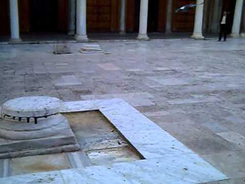 Tunisie: Zitouna mosque, ساحة مسجد الزيتونة