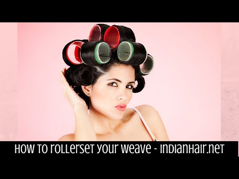 How to roller set your weave easily youtube pmusecretfo Images