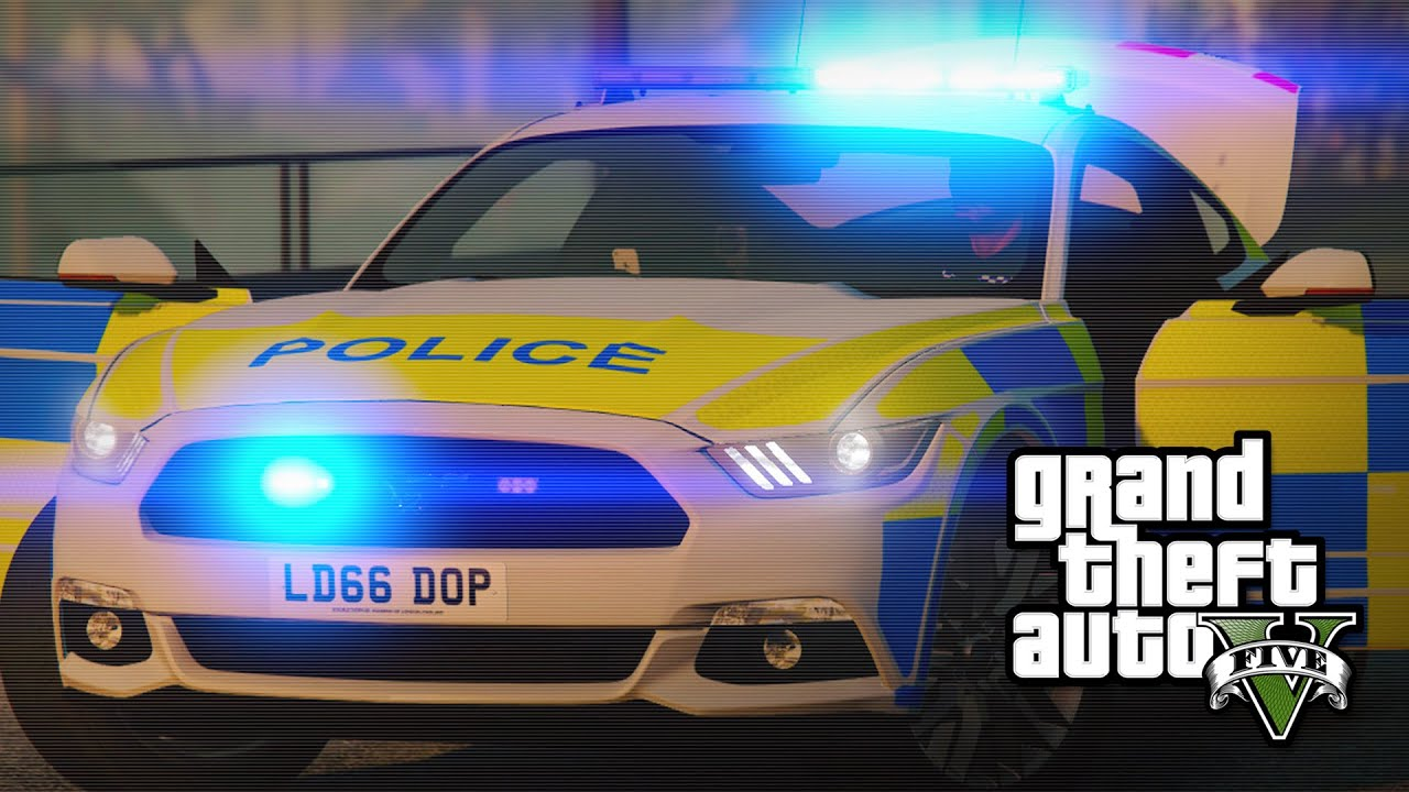 Lspdfr New Ford Mustang Police Car Gta 5 Pc Mod Release
