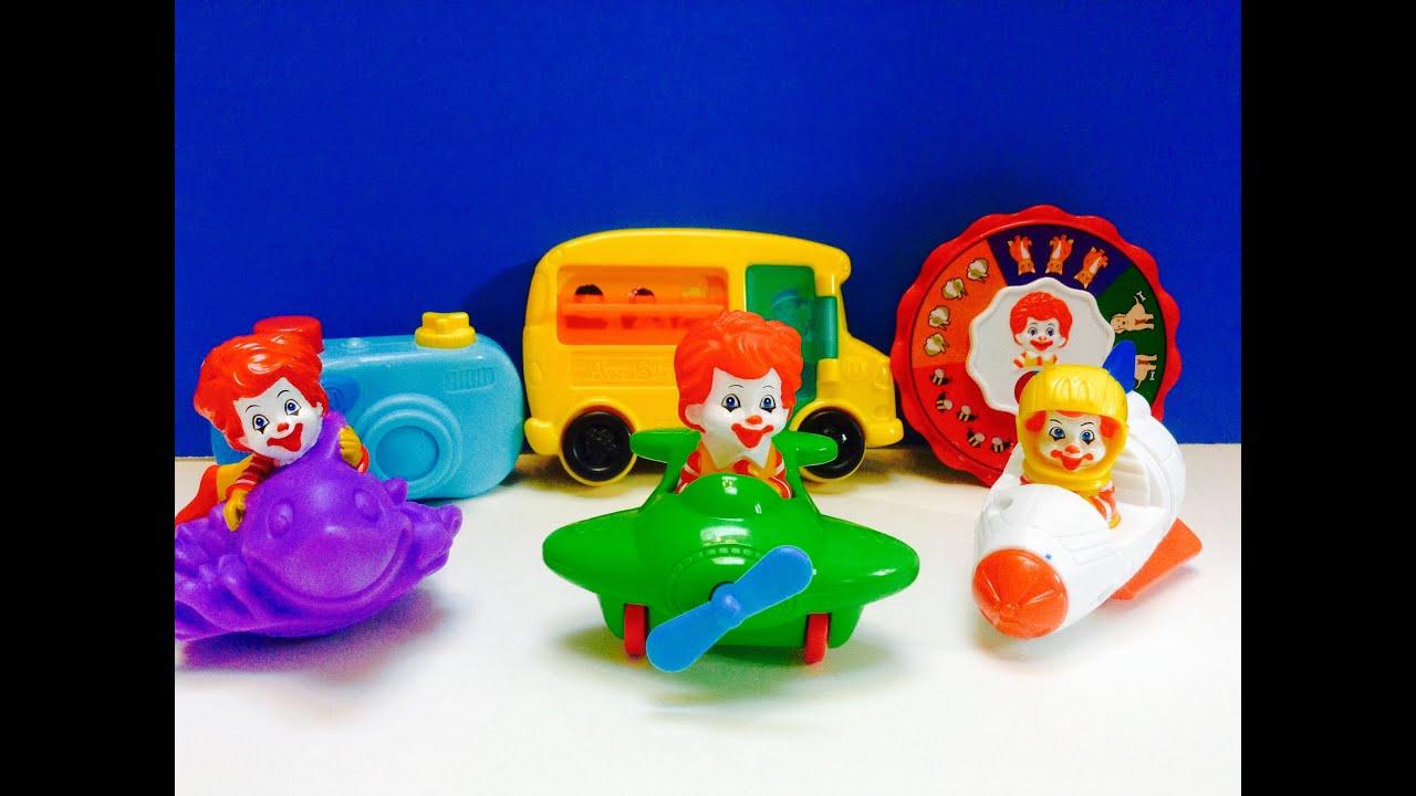 Ronald McDonald Toddler Toys McDonalds Happy Meal