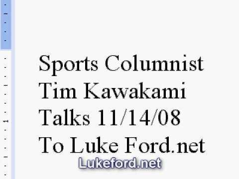 San Jose Mercury News Sports Columnist Tim Kawakami