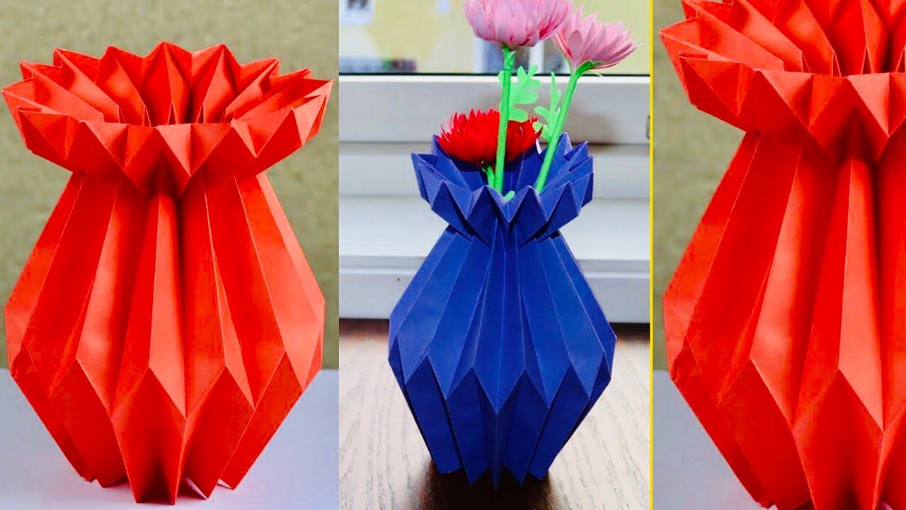 Rose Bud Flower Pot | Paper flowers, Flower crafts, Diy flower pots | 720x1280